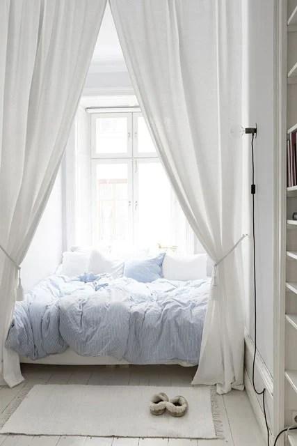 10 Desain Kamar Warna Putih Tercantik. Mana Favoritmu?