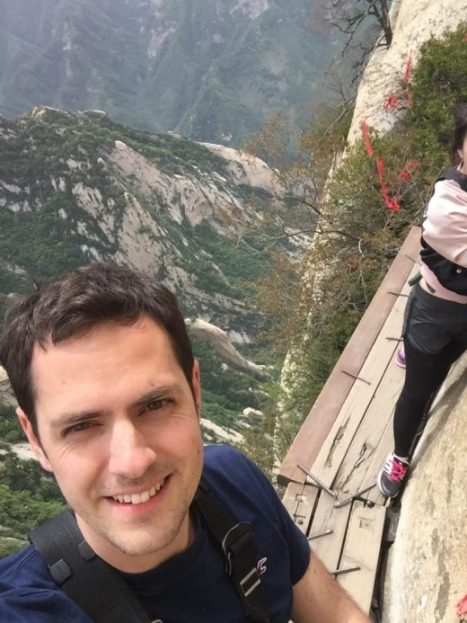 Selfie on Mt Huashan