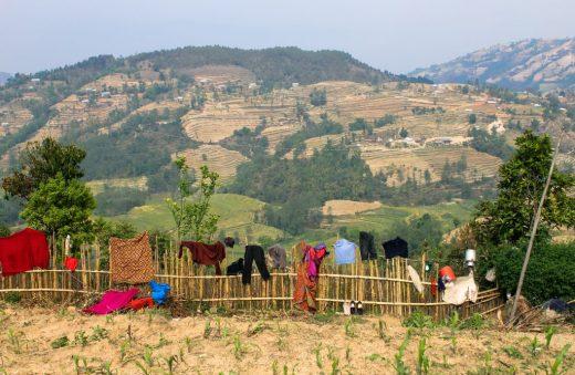 Nepal Villages clothes