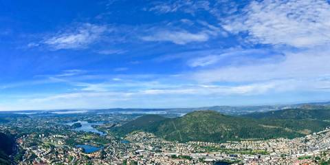 Beautiful Day in Bergen