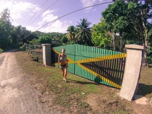 Ocho Rios Jamaica flag