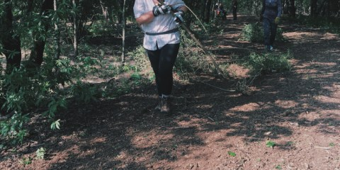 Discover Dallas: Volunteering at the Cedar Ridge Preserve