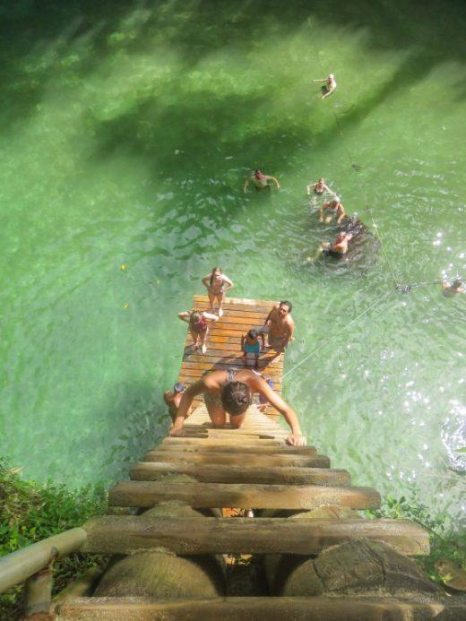 Ta Sua Trench Samoa Ladder