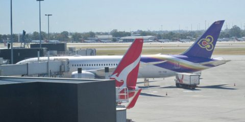 Flying Thai from Perth to Bangkok in Economy Class