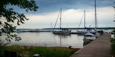Sailing Apostle Islands National Lakeshore Bayfield Wisconsin