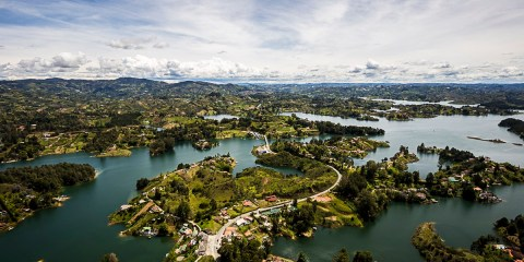 Over the Top of the World | La Piedra de Guatapé