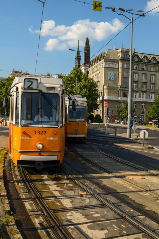 Budapest Tram Number 2