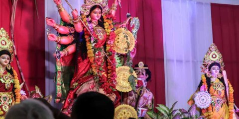 Durga Puja 2018: Glimpses of gods and mortals