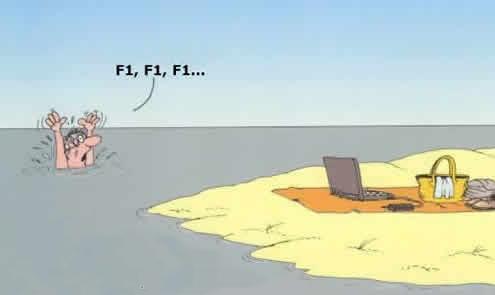 Como os nerds se afogam