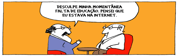 Discussoes na Internet