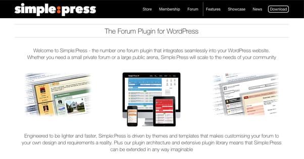 Simple Press Homepage