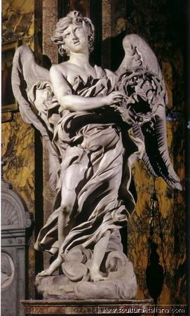 gian-lorenzo-bernini-angelo-con-la-corona-di-spine-roma-santandrea-delle-fratte-1668-1669