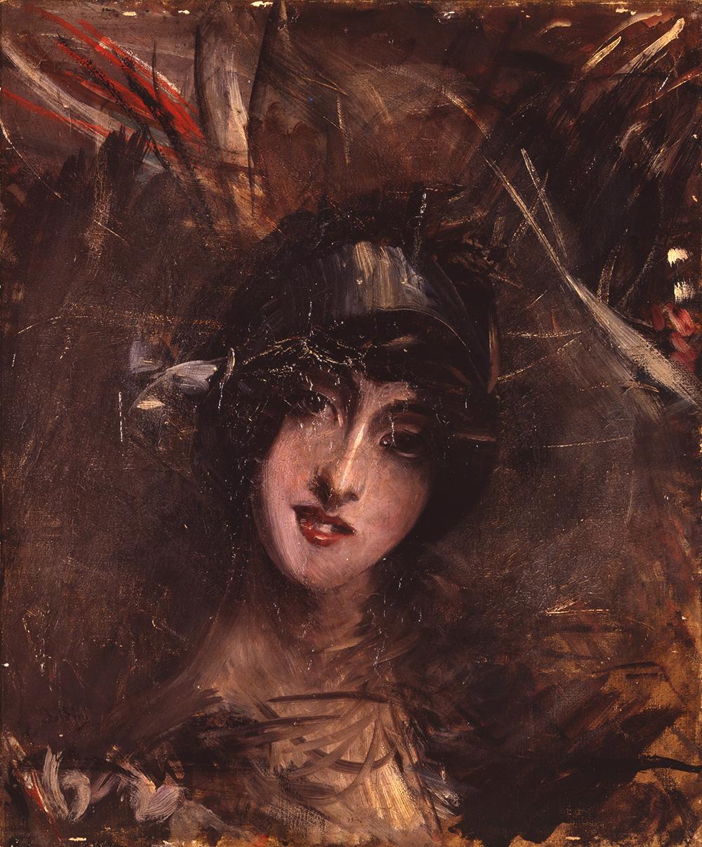 Boldini Giovanni Portrait Donna Franca Florio artista quadro dipinto olio tela