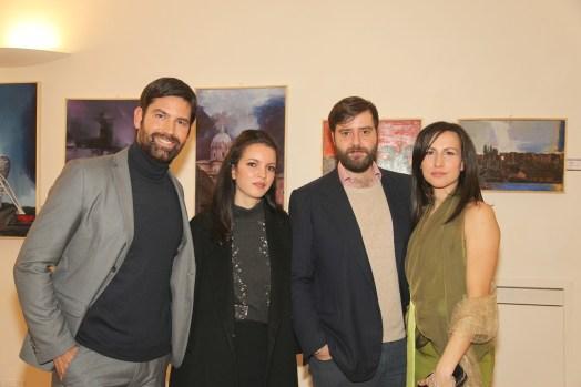 Marco Mergè, Tea, Ascanio Colonna, Elena Parmegiani