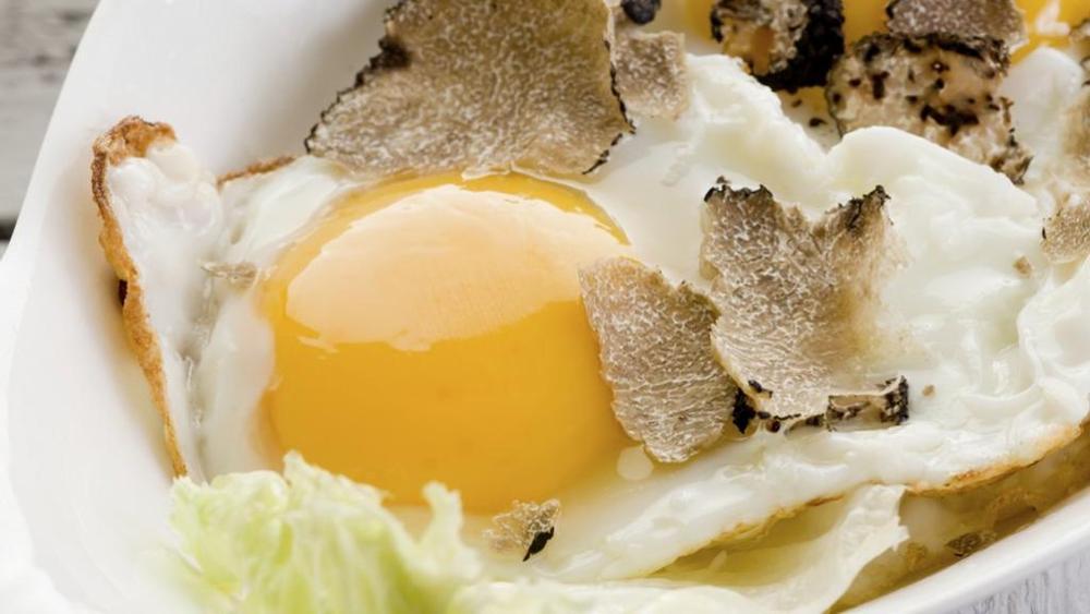 uova e tartufo
