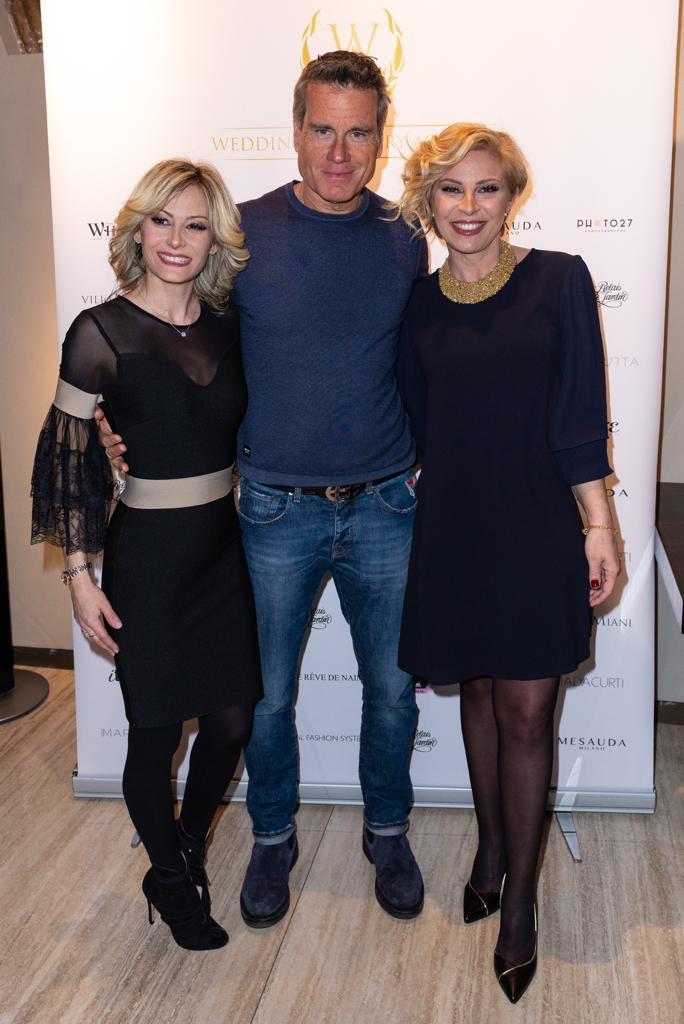 Giulia Sonnino, Jimmy Ghione e Flavia Bruni
