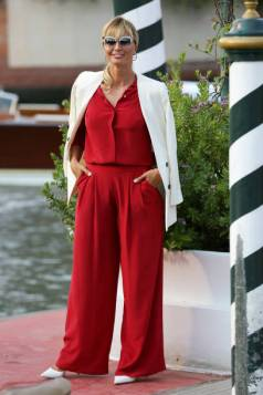 VENICE, ITALY - AUGUST 31: Anna Ferzetti is seen arriving at the 76th Venice Film Festival on August 31, 2019 in Venice, Italy. (Photo by Ernesto Ruscio/GC Images,)