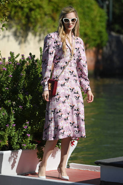 VENICE, ITALY - SEPTEMBER 03: Brit Marling is seen arriving at the 76th Venice Film Festival on September 03, 2019 in Venice, Italy. (Photo by Pascal Le Segretain/GC Images,)