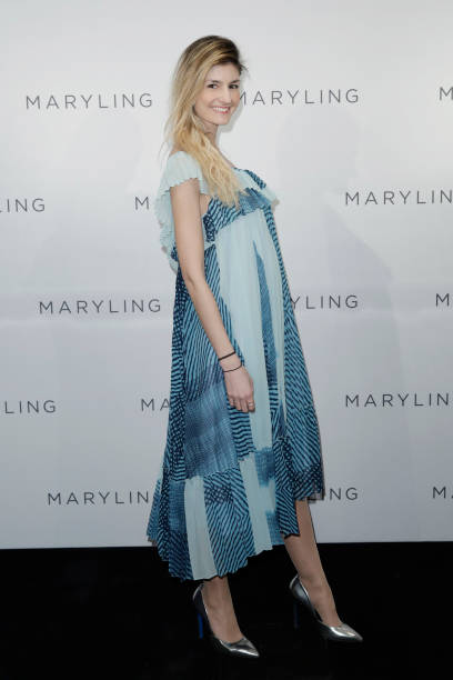 MILAN, ITALY - FEBRUARY 19: Maria Vittoria Cusumano arrives at the Maryling Special Show as part of Milan Fashion Week Fall/Winter 2020-2021 on February 19, 2020 in Milan, Italy. (Photo by John Phillips/Getty Images for Maryling)
