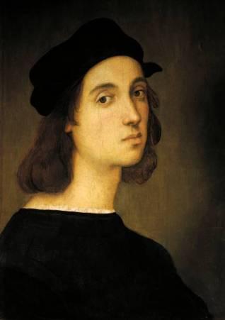 ITALY - APRIL 22: Florence, Galleria Degli Uffizi (Uffizi Gallery) Self-portrait, by Raphael Sanzio (1483-1520). (Photo by DeAgostini/Getty Images)
