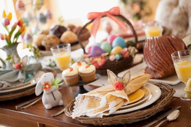 Easter Dining Place Setting