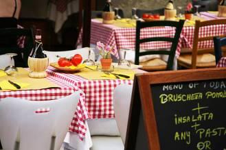 Beautiful traditional Italian restaurant.