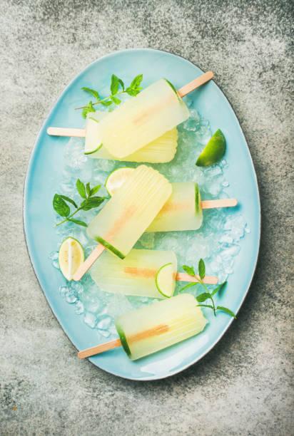 Ghiaccioli con Aloe Forever Menta e Lime (3)