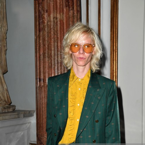 ROME, ITALY - MAY 28: Silvia Calderoni attends Gucci Cruise 2020 at Musei Capitolini on May 28, 2019 in Rome, Italy. (Photo by Jacopo Raule/Getty Images for Gucci)
