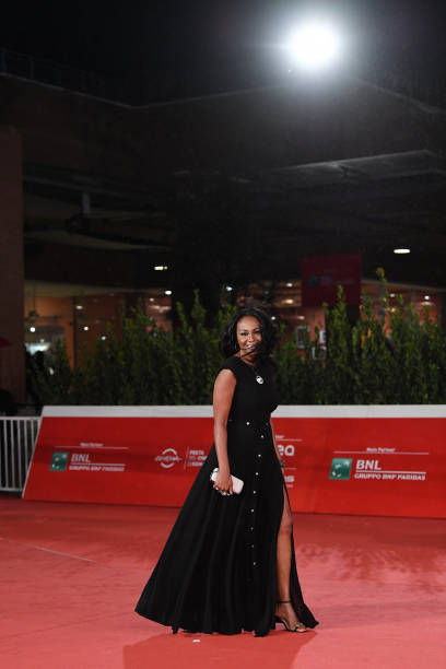 """ROME, ITALY - OCTOBER 15: Ira Fronten attends the red carpet of the movie """"Soul"""" during the 15th Rome Film Festival on October 15, 2020 in Rome, Italy. (Photo by Daniele Venturelli/WireImage,)"""