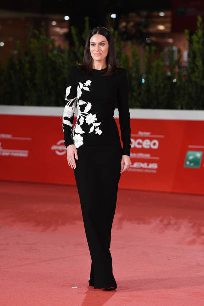 "ROME, ITALY - OCTOBER 15: Paola Turani attends the red carpet of the movie ""Soul"" during the 15th Rome Film Festival on October 15, 2020 in Rome, Italy. (Photo by Daniele Venturelli/WireImage,)"