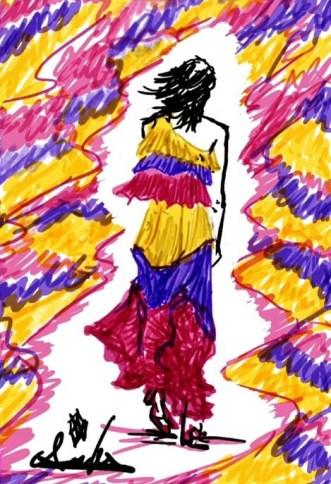 10 bozzetto moda