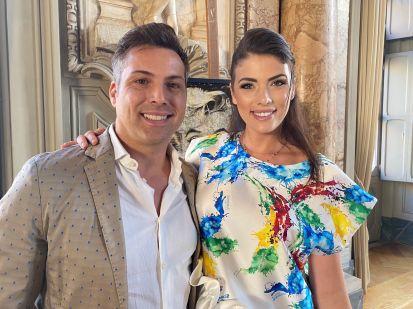 Vincenzo Bocciarelli e Irene Antonucci primo piano