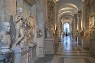Italy, Lazio, Rome, 15.05.2015, Capitoline Museums, the exhibition space in the Palazzo dei Conservatori