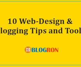 10 Web-Design & Blogging Tips and Tools 1