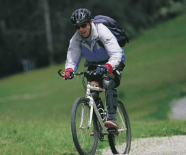 cycling can reduce stress