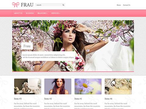 frau_responsive wp theme