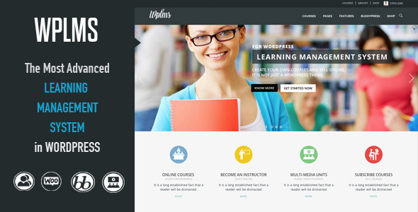 wplms wordpress buddypress theme