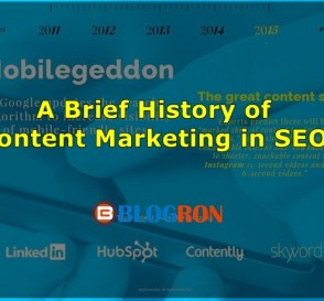 the birth of content marketing-blogron