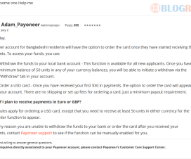 Do not See Order a Card Option in Your Payoneer Account? 1