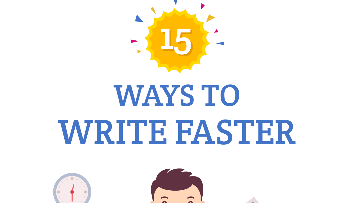 15 Amazing Ways to Become a Better Writer [infographic]