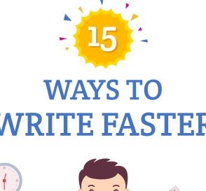15 Amazing Ways to Become a Better Writer [infographic] 1