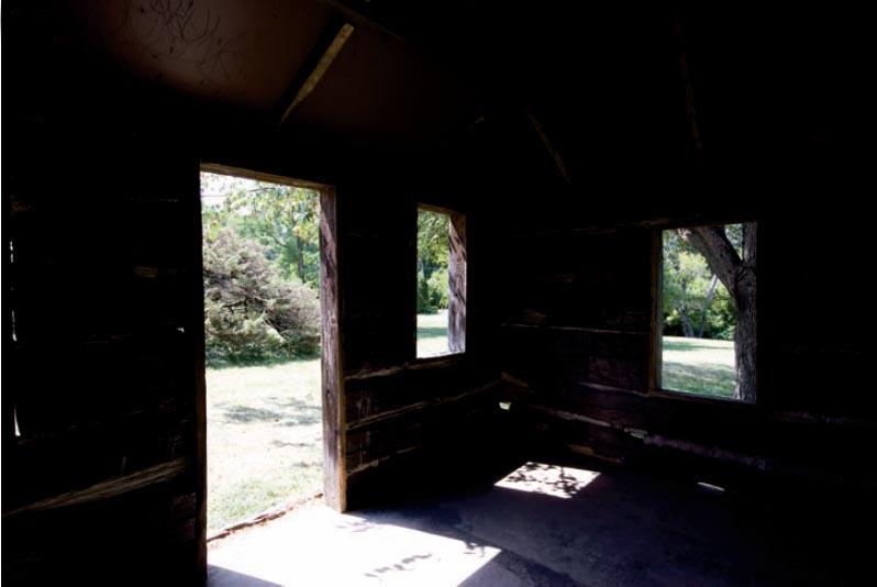 Underexposed Hut