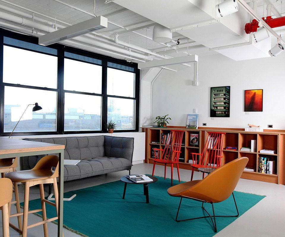 A common area at Spaces. Photo courtesy of Spaces.