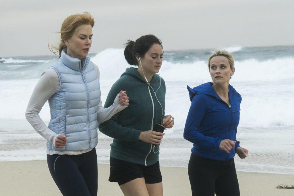 Nicole Kidman, Shailene Woodley and Reese Witherspoon star in the HBO series, which has been a critical and commercial hit, particularly among women.