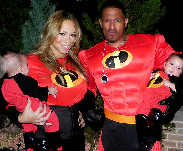 Mariah Carey & Family