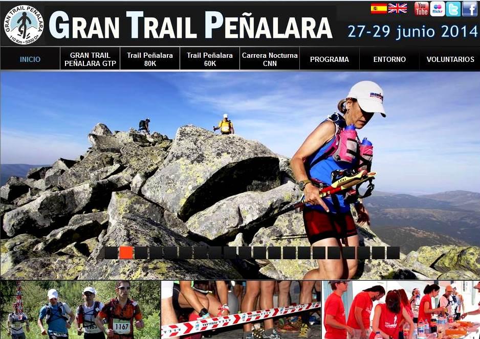 Nueva web oficial Gran trail Peñalara en grantrailgtp.com