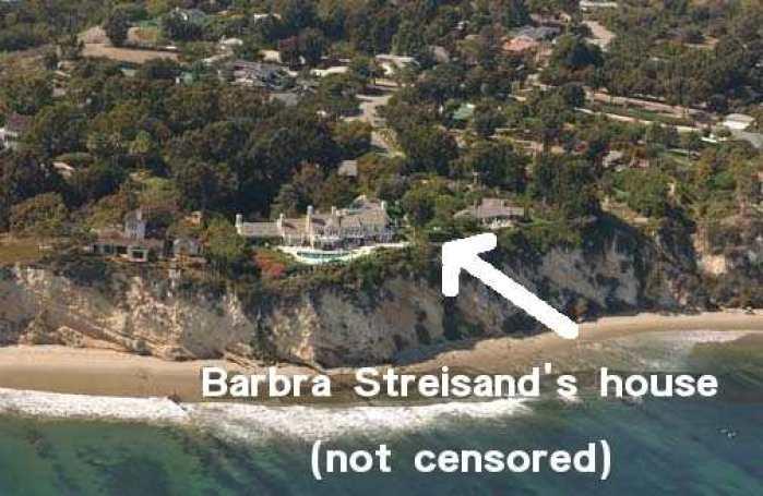Resultado de imagen para Efecto Streisand