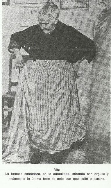 ¿Quién fue 'Rita la cantaora' que tanto se la nombra?