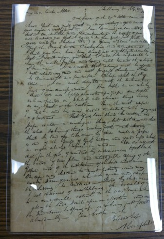 Campbell letter