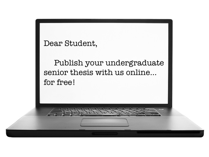 undergraduate dissertation publication In paper journals publication undergraduate essay from princeton research paper on early marriage proquest dissertations and what to include in an.
